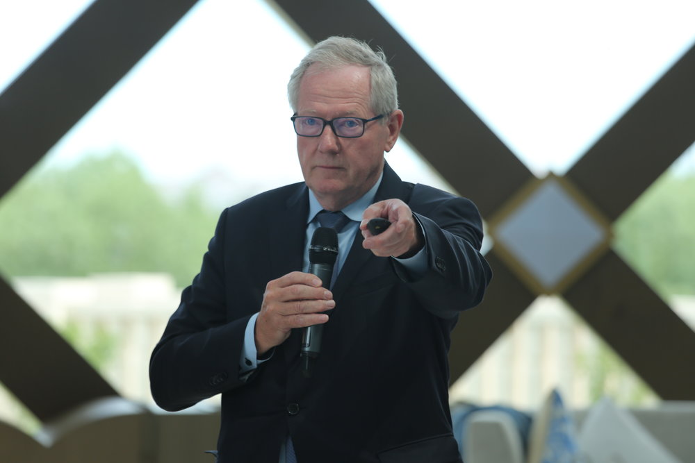 Prof. Richard Barker (photo by Kazpravda.kz)