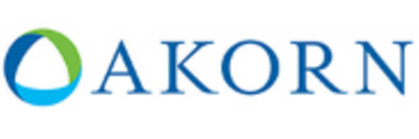 LOGO_Firma AKORN (Azasite, Azithromycin 1%, vorher bei Inspire, die hatte 2011 Merck gekauft).PNG