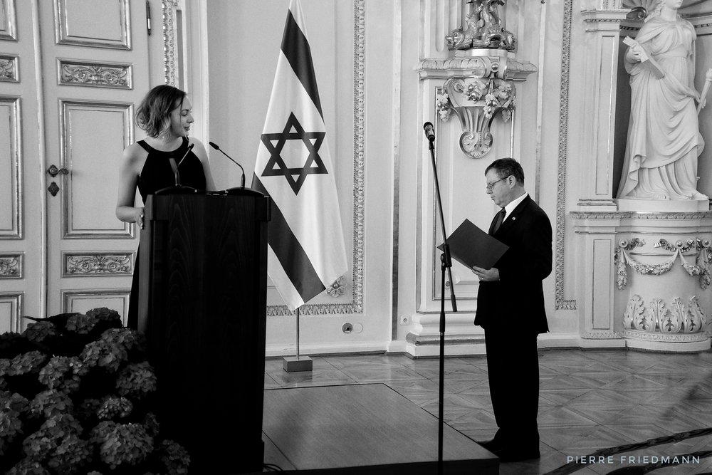 Ambassador Daniel Meron