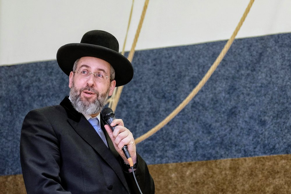 Chief Israeli Rabbi David Lau. 3.2019.