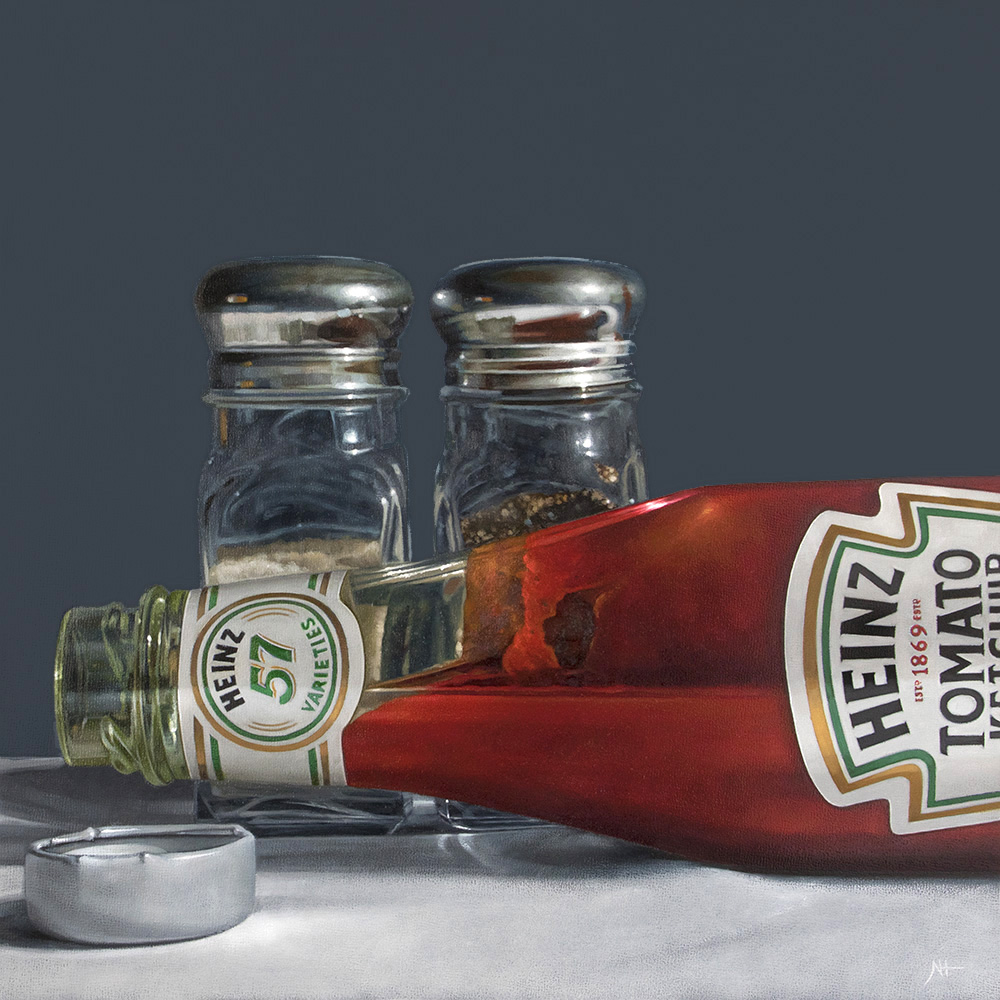 Condiments   |   12 x 12   |   Oil on panel  |  SOLD