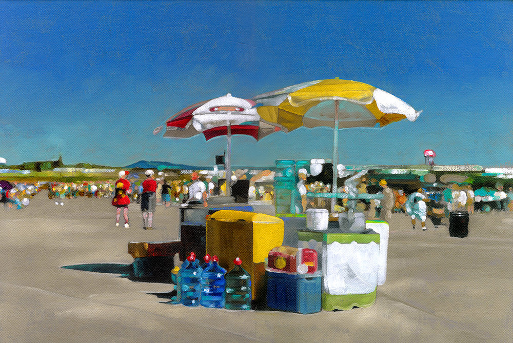 Air Show  |  11 x 16  |  Oil on canvas