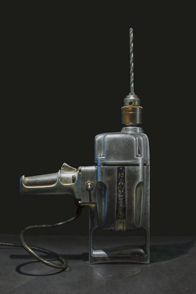 Big Drill No. 3 | 24 x 36 | Oil on panel       SC