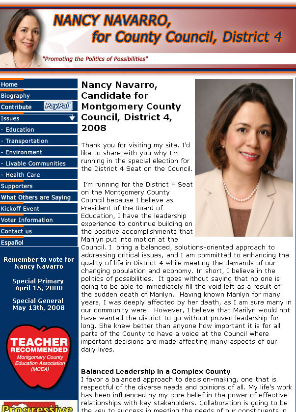 Council Member, Nancy Navarro