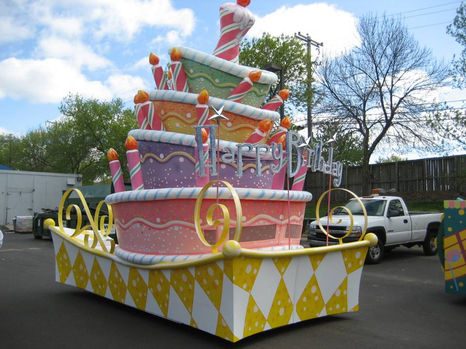 Sesame Place Float