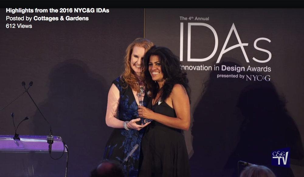 Reeta NYC &G award.jpg