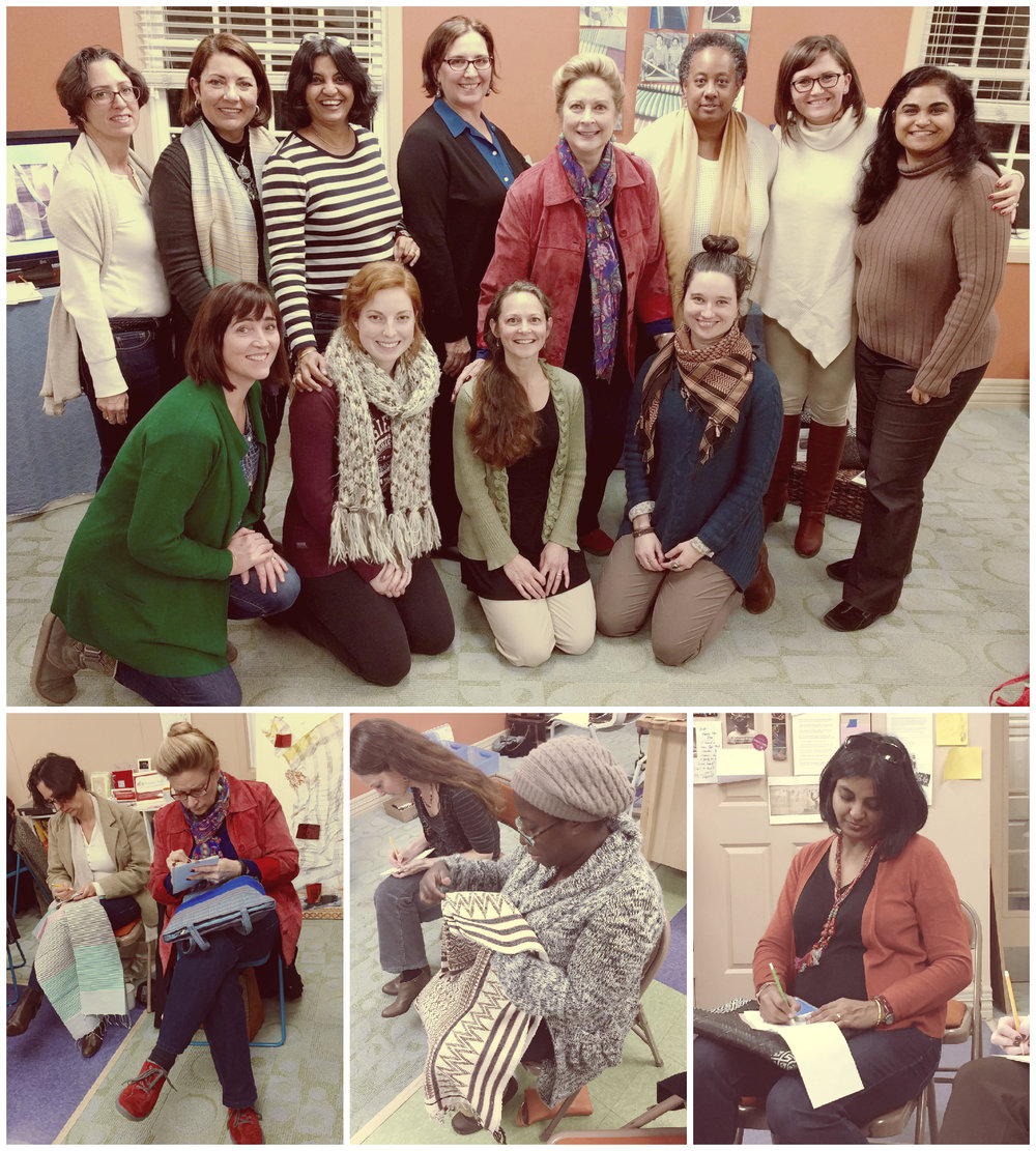 Some of the amazing friends and supporters who participated in the Indigo Lion Pause sessions! Top: Florence, Aida, Sush, Ann Marie, Kate, Andrea, Alex, Sharmila, Louise, Kara, Mary, Sarah. Bottom: Florence, Kate, Mary, Kim, Sush