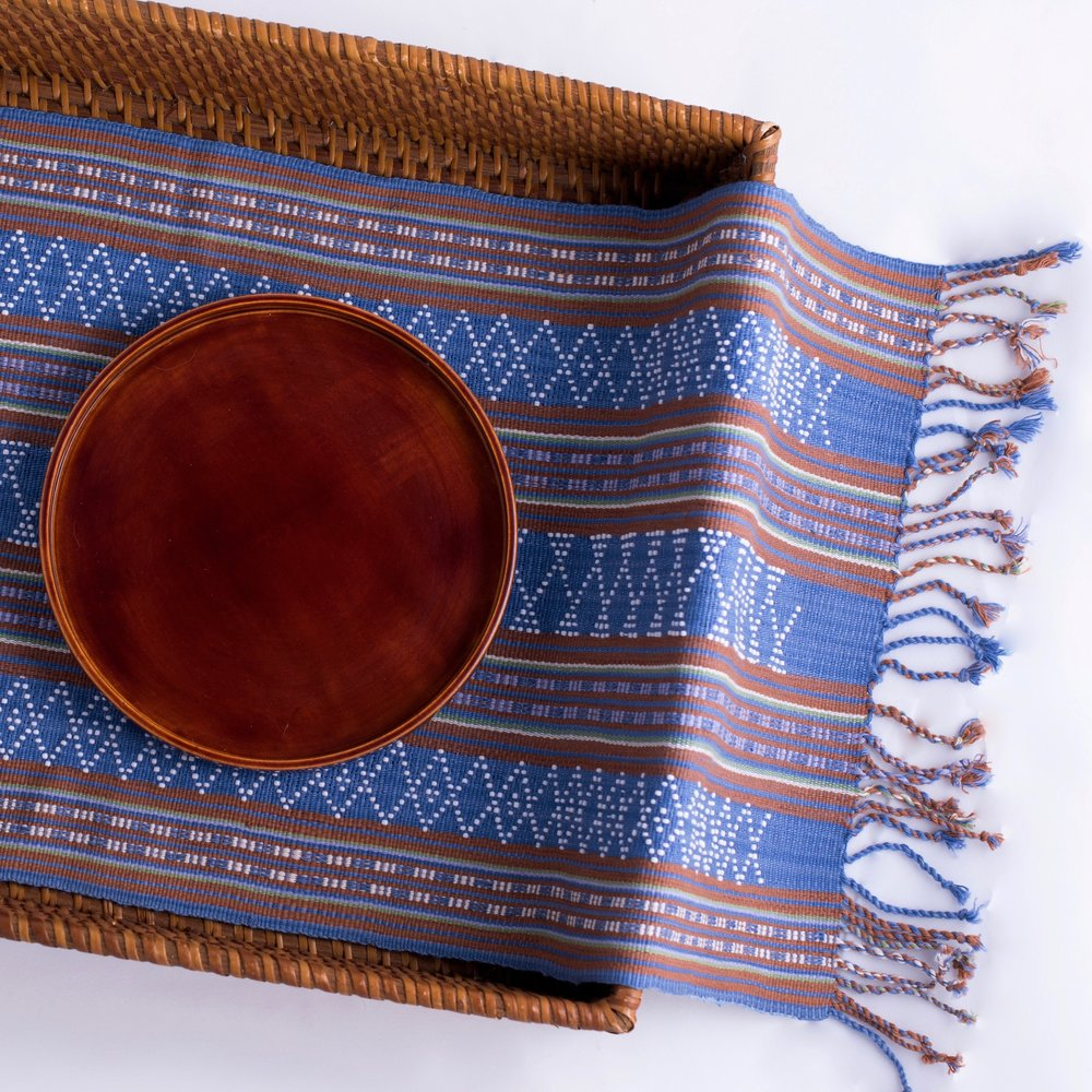 Katu Textile Table Runner  — Pattern and detail lead the way on an unforgettable journey.
