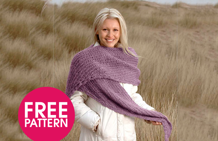 Triangular Scarf Knitting Pattern Yours
