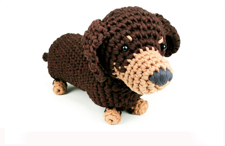 Crochet a dachshund dog — Yours