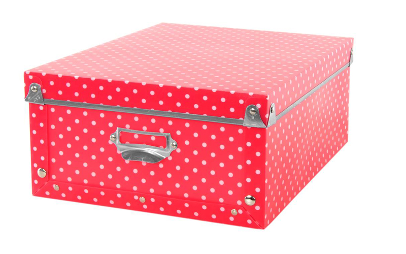 Red dotty storage box prices between £1.49 - £2.49 depending on size Home Bargains  sc 1 st  Yours magazine & Looking for clever storage solutions? Here are our favourite ...