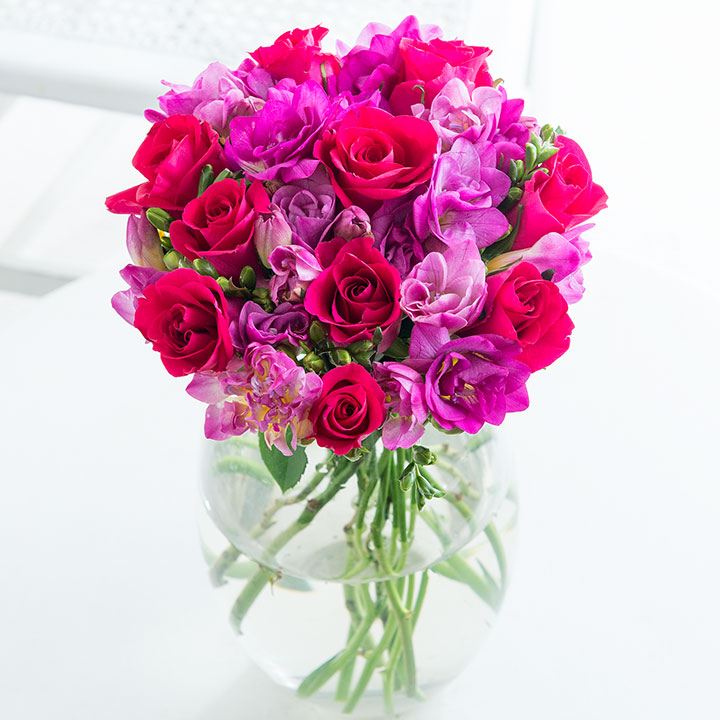 Win a bouquet from Flying Flowers every month for a year! — Yours