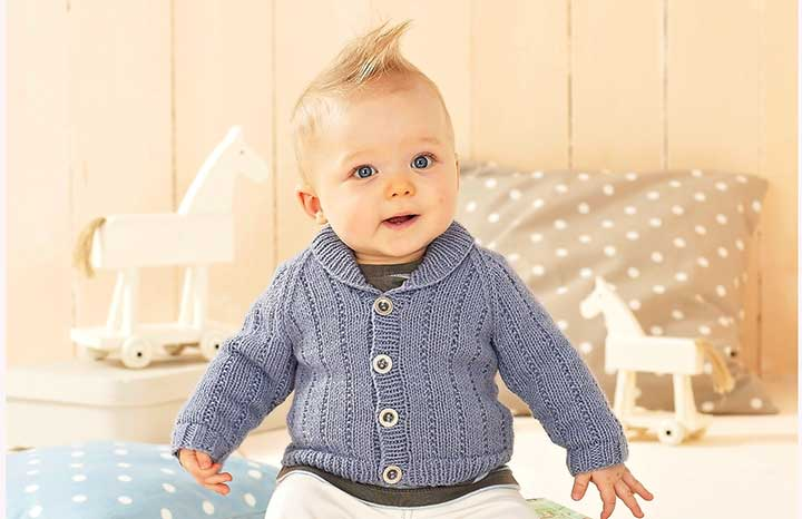 de025d1cccf4 Knitted baby s cardigan — Yours