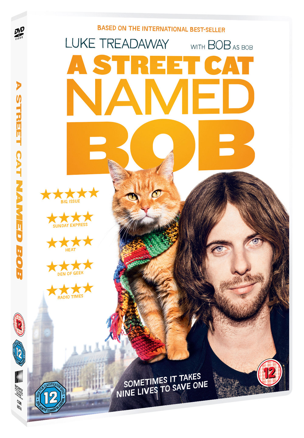 Catch the incredible story of James and Bob on DVD now!