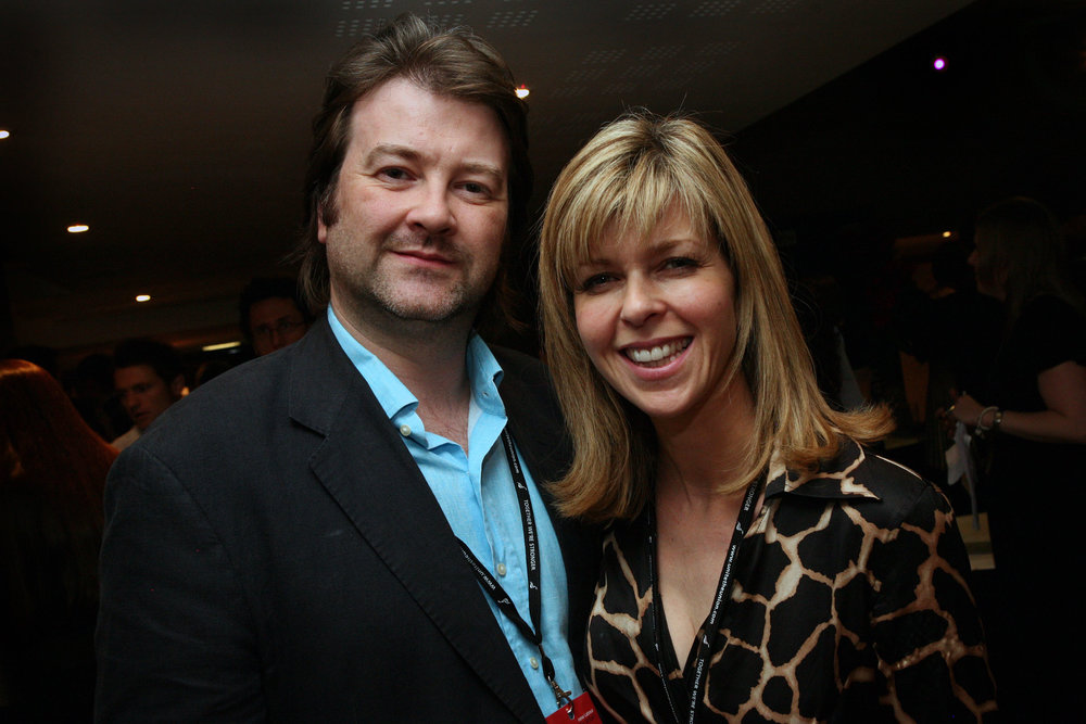 Kate with husband Derek Draper who she married in 2005