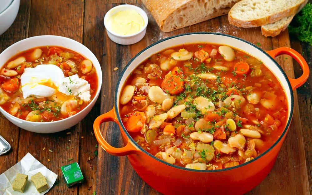 butterbean-egg-goats-cheese-stew