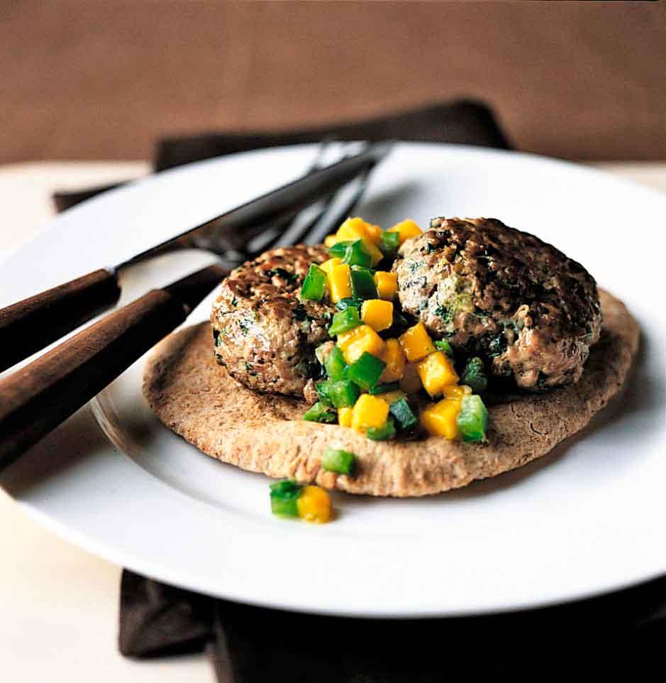 lamb-burgers-with-mango-salsa