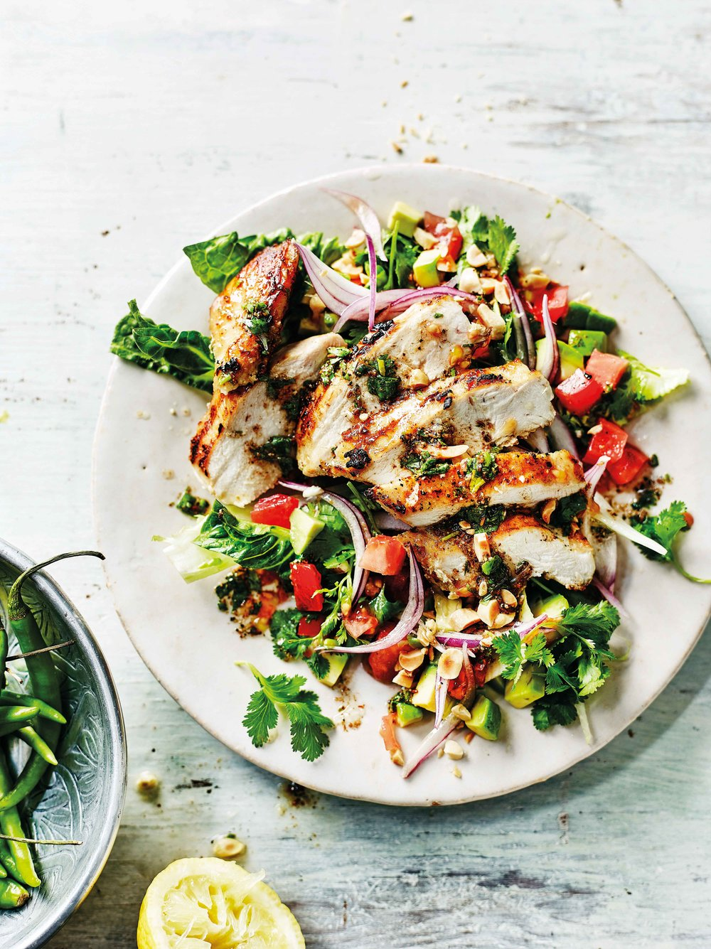 Griddled-chicken-salad