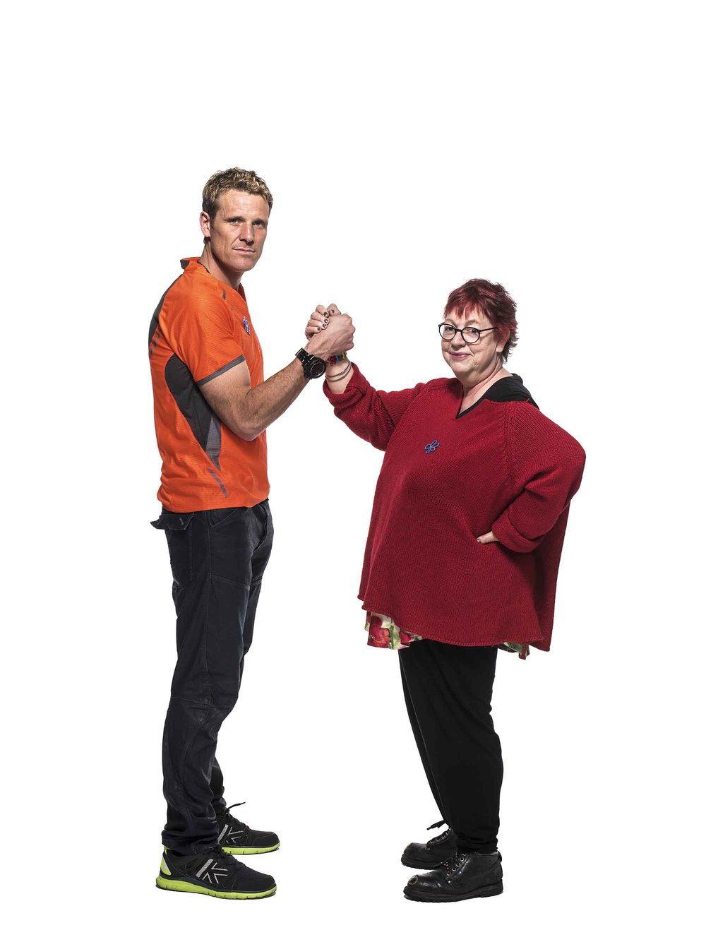 Jo Brand and James Cracknell are backing the campaign