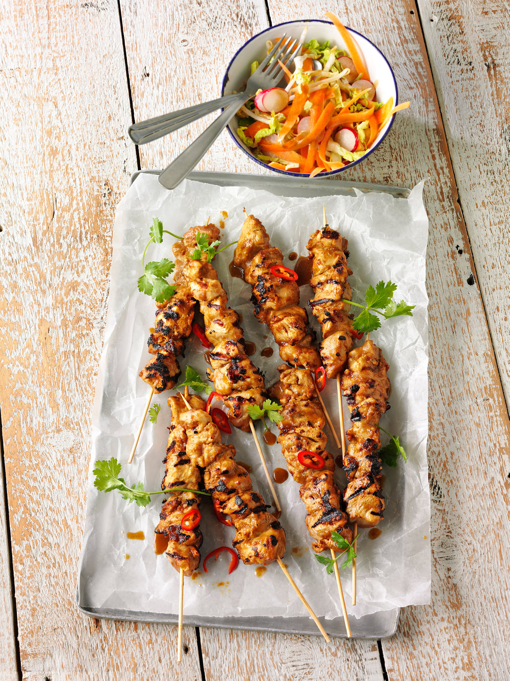 chicken-satay-skewers