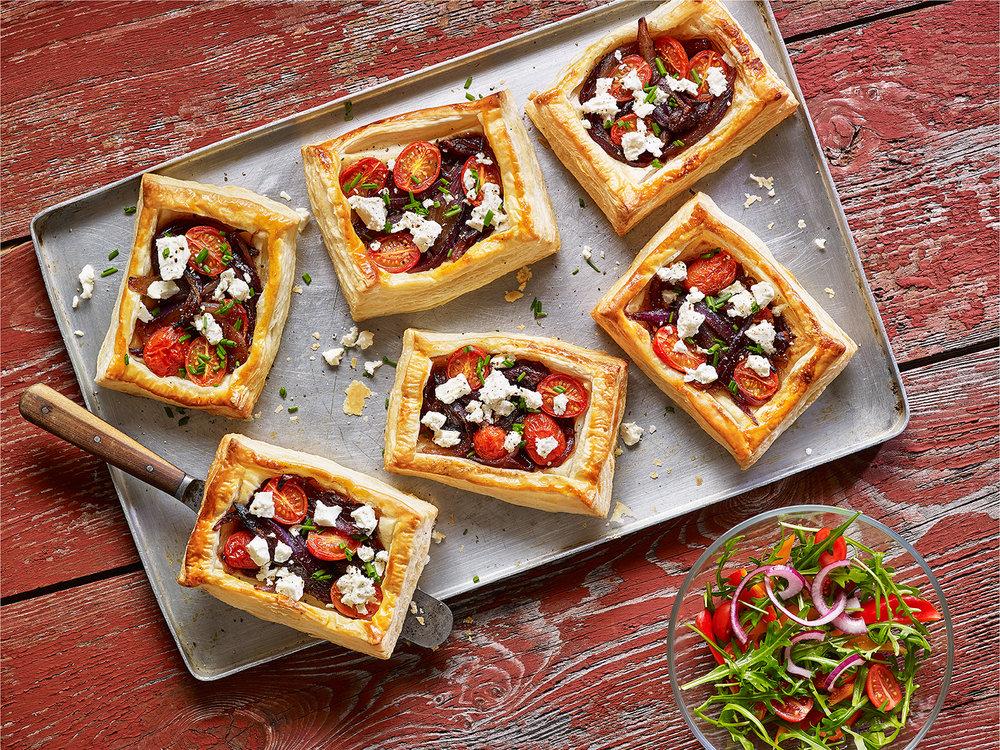 Feta-cherry-tomato-tarts