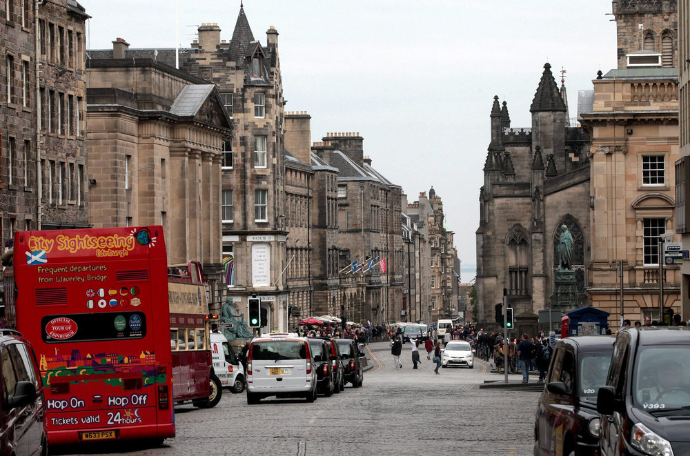 Edinburgh's majestic Royal Mile