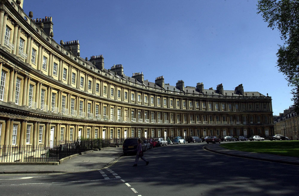 Bath's The Circus wows with impressive Georgian architecture