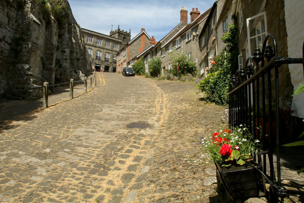 A Hovis ad made Shaftesbury's Gold Hill famous