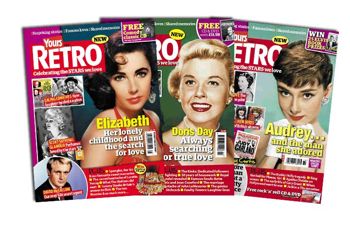 Love nostalgia? Then why not take a look at Retro- a new magazine from the makers of Yours!