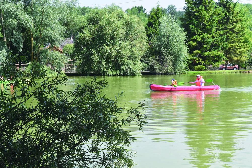 Lake at Eurocamp La Croix du Vieux Pont