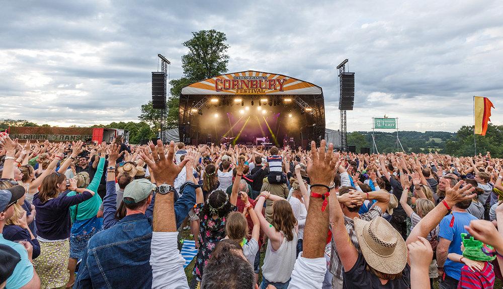 Cornbury is regularly voted one of the UK's friendliest festivals