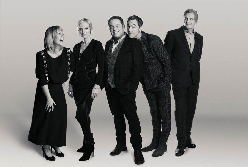 The Cold Feet cast - taken from Fay's Twitter