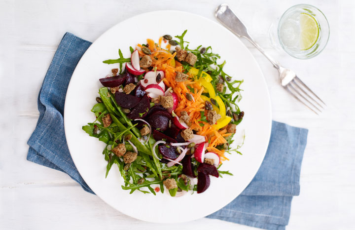 Make this delicious beetroot salad