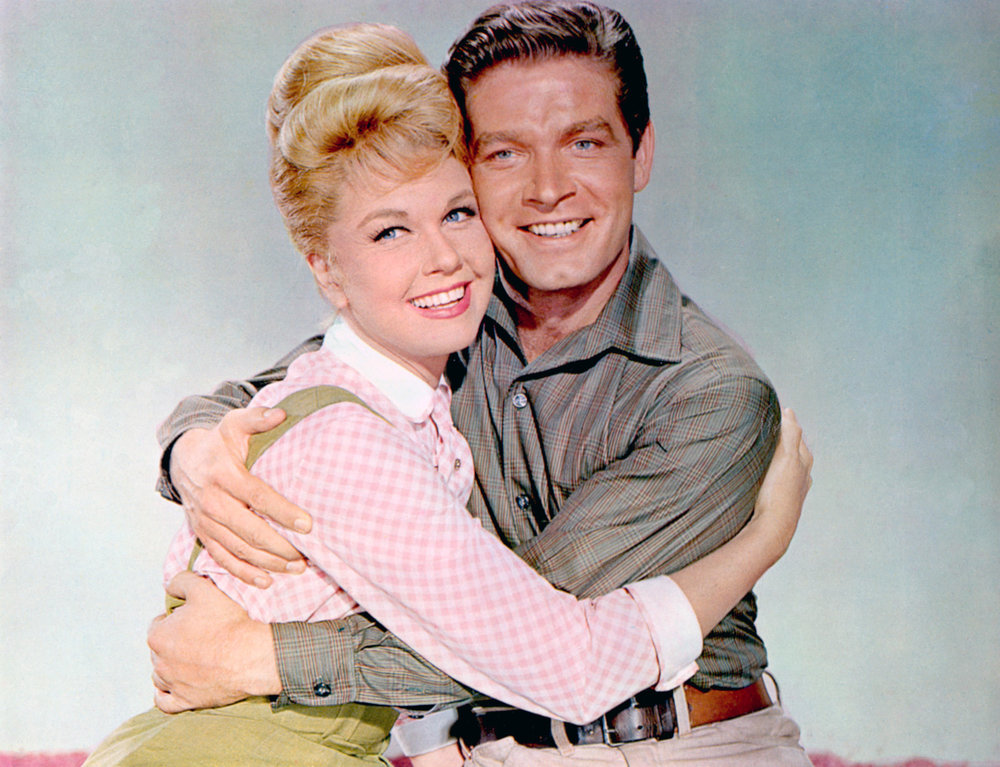 Doris Day and Stephen Boyd in 1962