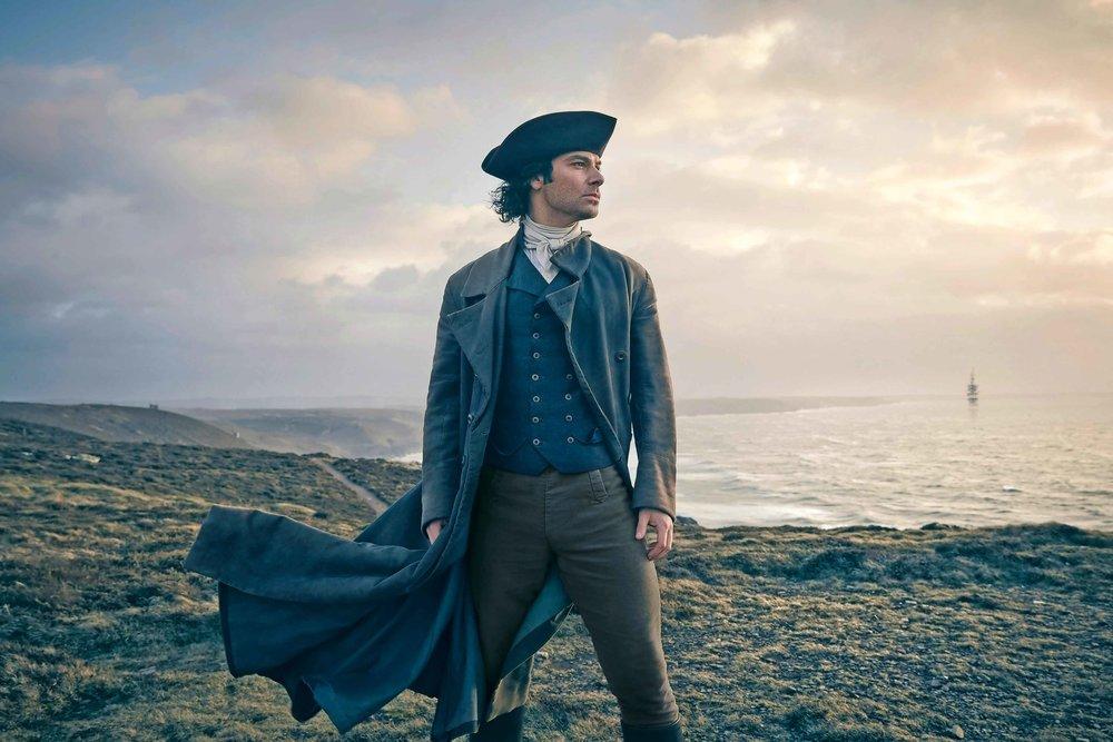 Aidan Turner as Captain Ross Poldark (BBC)