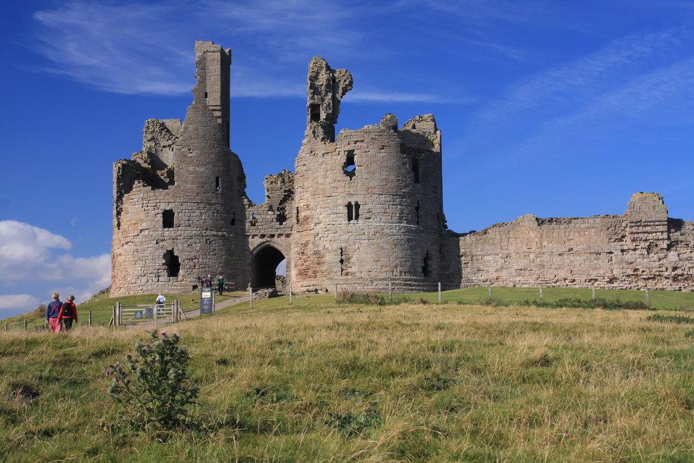 Dunstanburgh Castle. Credit: Gail Johnson & Visit Northumberland