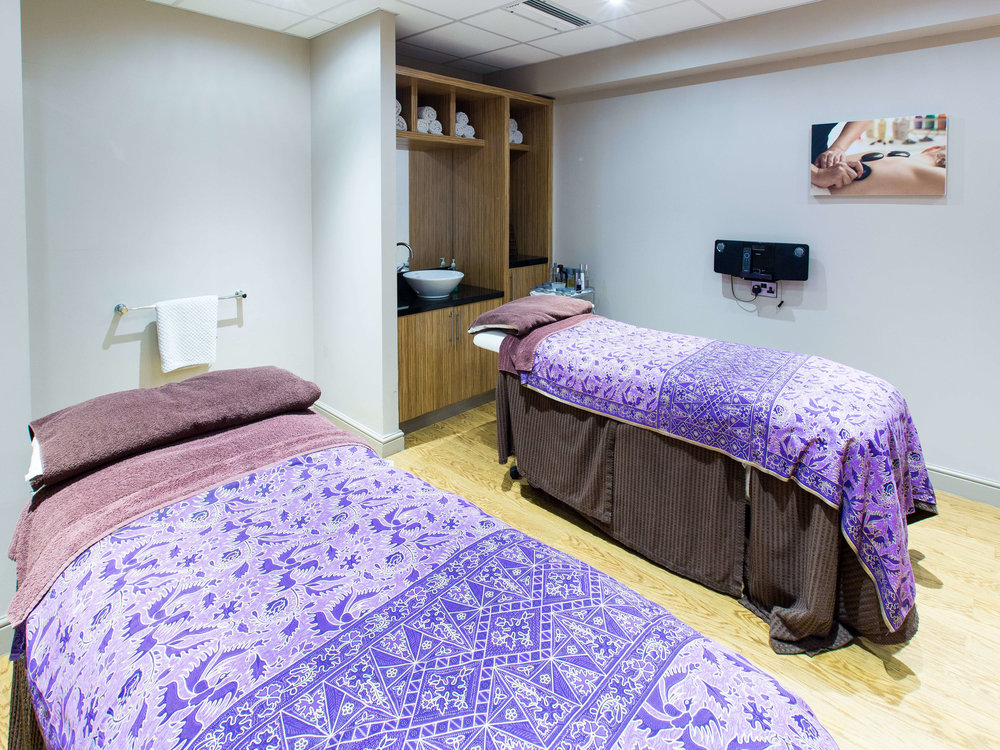 The couple's treatment room