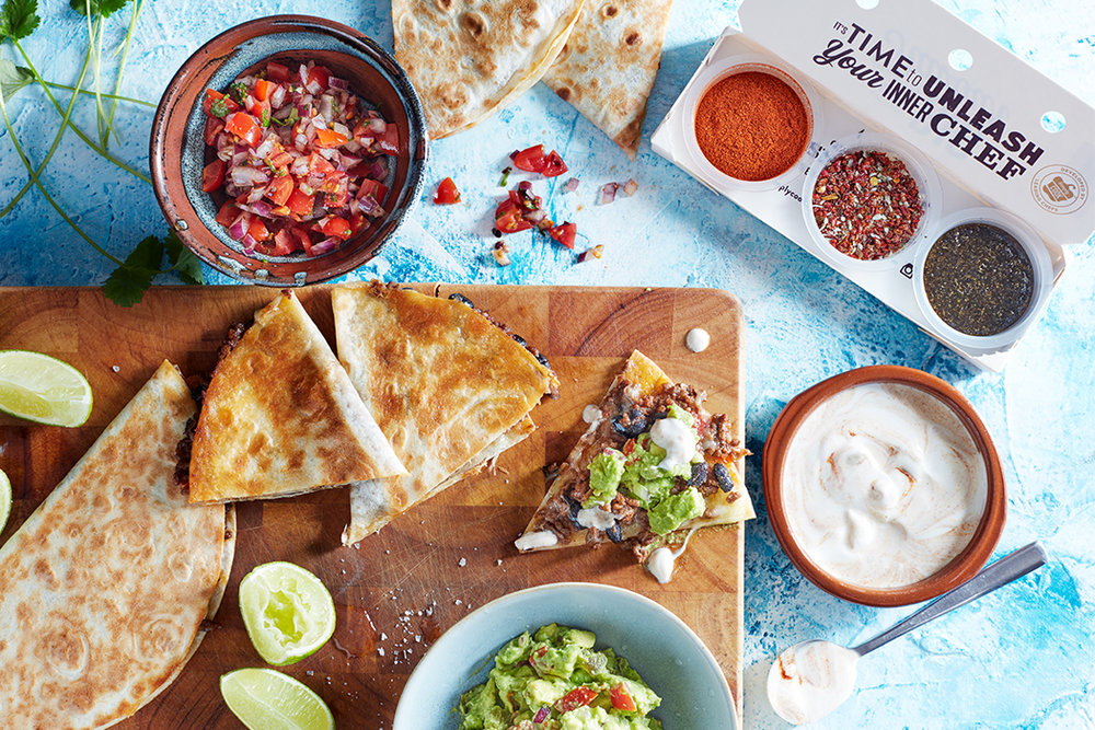 Make beef quesadilla with the SimplyCook pots