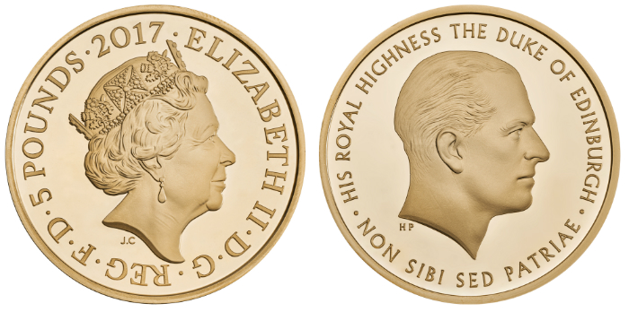 Prince Philip retirement coin