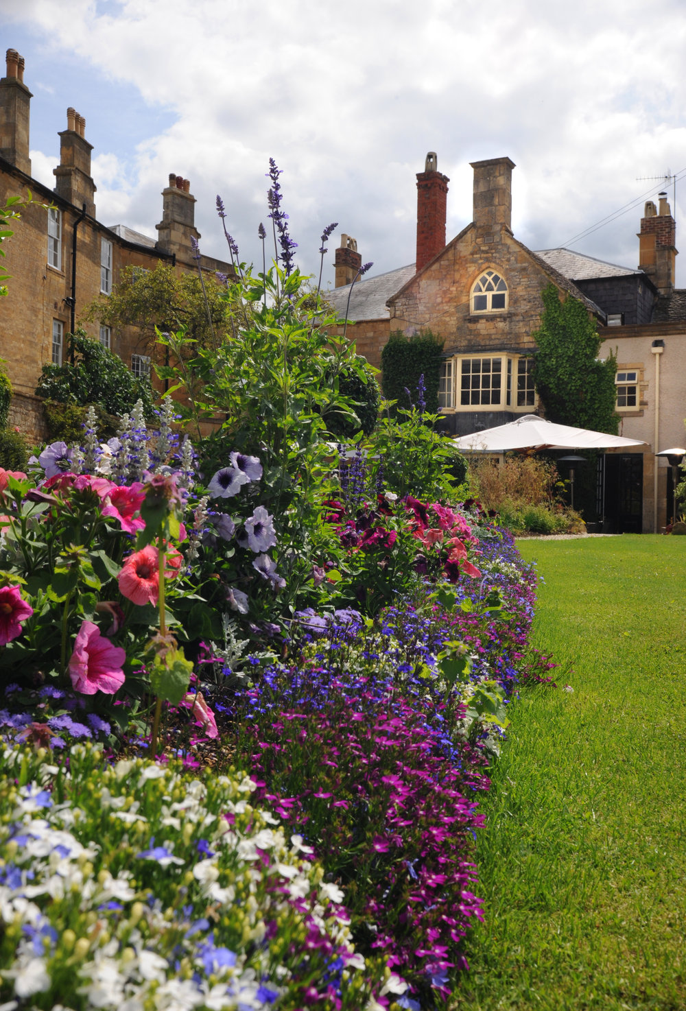 The Garden of the Kings Hotel Chipping Campden
