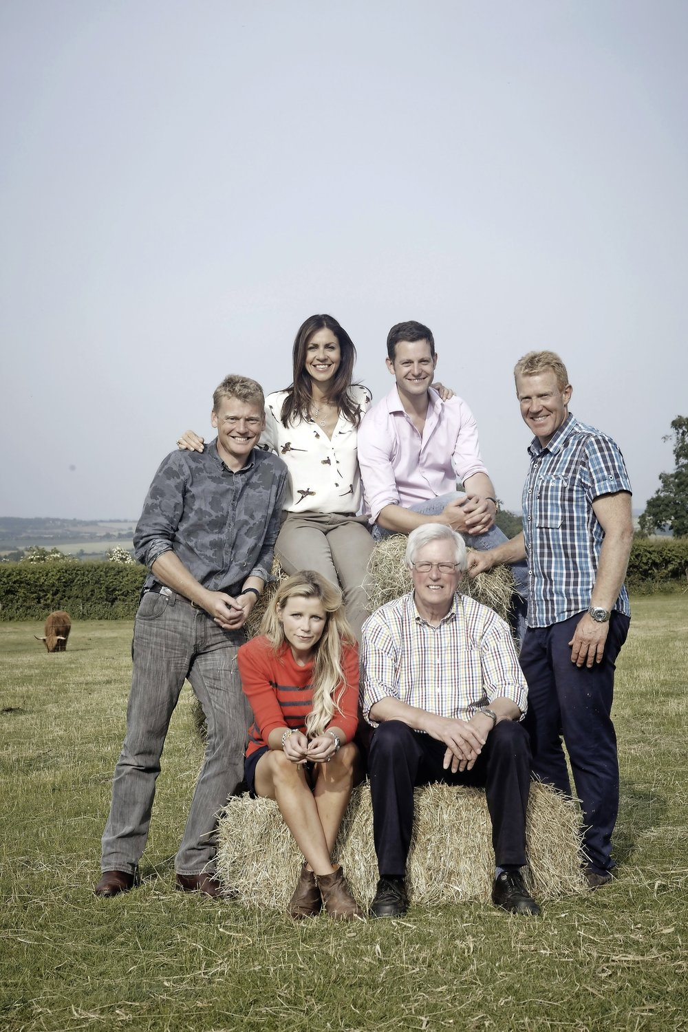 Matt with fellow Countryfile presenters