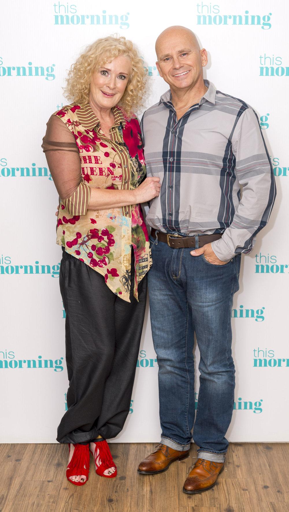 Bev with her husband Jon McEwan