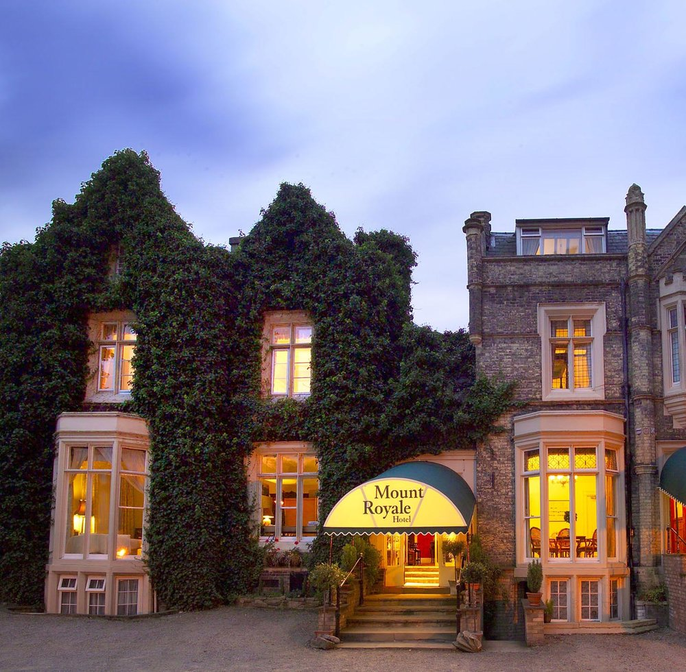 The Mount Royale Hotel, York, our home for the weekend!
