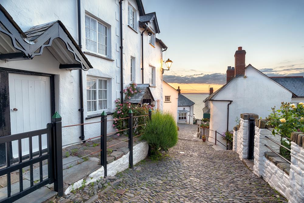 Clovelly in Devon