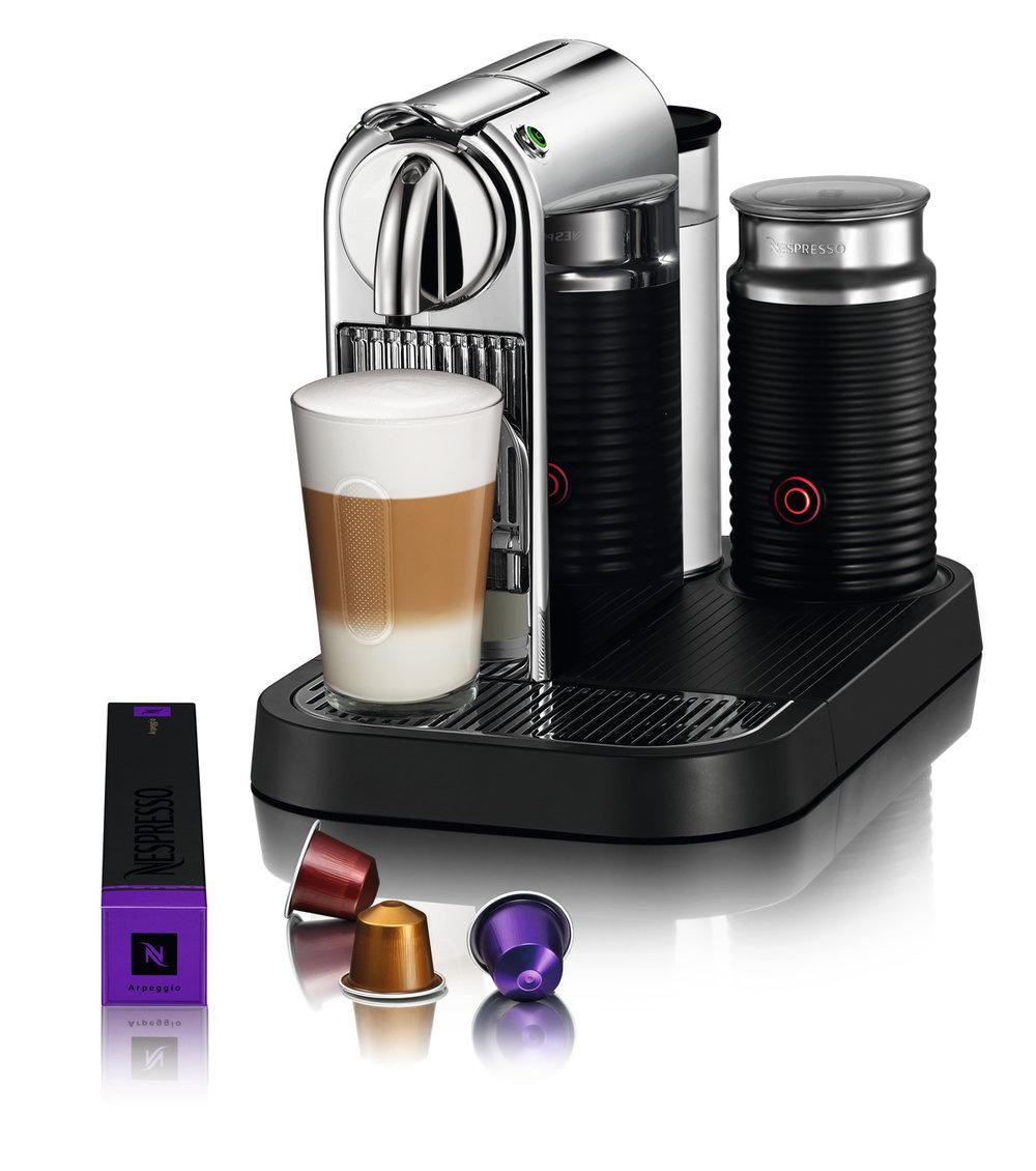 Nespresso Citiz And Milk