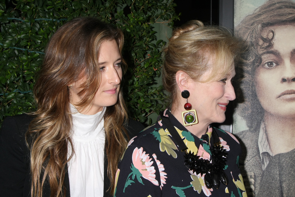 Meryl with daughter Grace Gummer