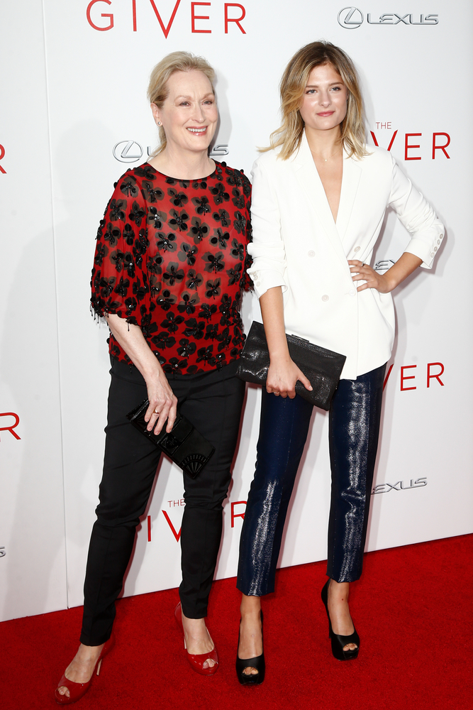 Meryl and daughter Louisa