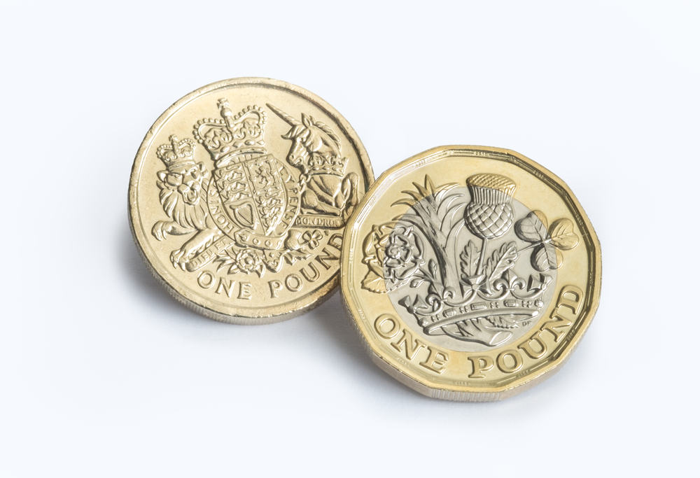 The new 12-sided £1 coin entered circulation in March
