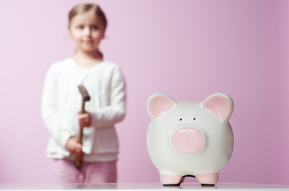 Get the children to check their piggy banks!