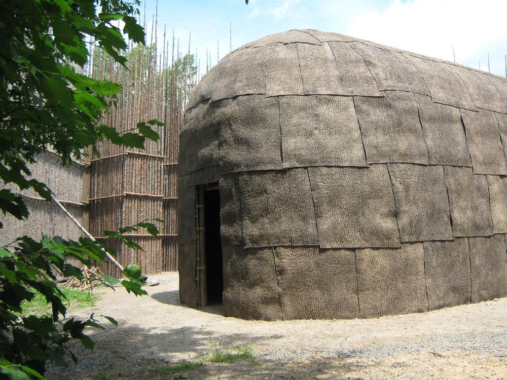 Wendake longhouse